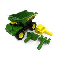 John Deere 38cm Dump Truck with tools