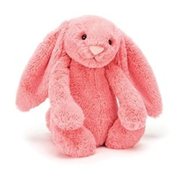 Jellycat Medium Bashful Bunny - Coral
