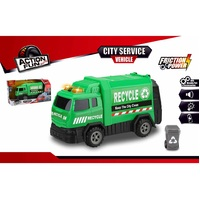 City Service Vehicle - Garbage Truck