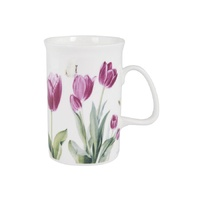 Botanical Floral Tulip Can Mug
