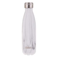 Double wall Insulated 500ml drinker - Marble
