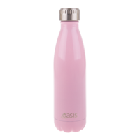 Oasis Double Wall Insulated Drinker 500ml-Baby Pink