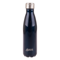 Double Wall Insulated Bottle 500ml-Navy