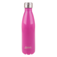 Double wall insulated 500ml drinker - Pink