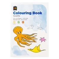 Colouring Book - Sea life