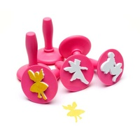Paint and Dough Stampers - Fairy Stamps