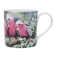 Aus Bird and Flora Galah and City Mug