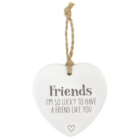 Friends Loving Hanging Heart
